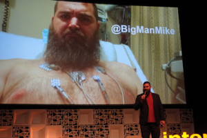 Big Man Mike at Internet Summit