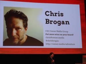 Chris Brogan at Internet Summit