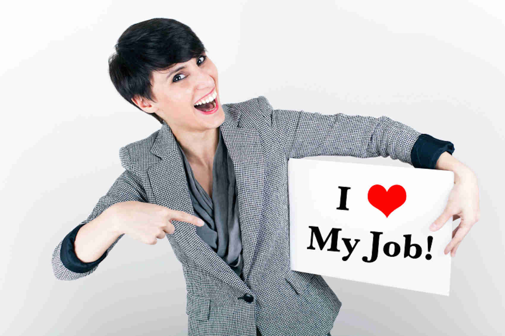 Happy Job Seeker Med
