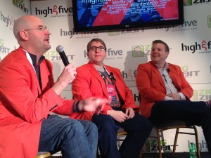2016 High Five Conference Triangle AMA's Presidents (Stan Phelps, Karl Sakas, Evan Carroll)