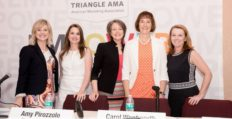 "Triangle AMA ""She Suite"" Panel. Photo credit: Ricardo Barandiaran"