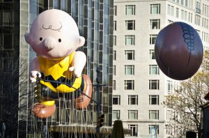 November 22, 2012: Charlie Brown Annual Macy's Thanksgiving Day Parade.