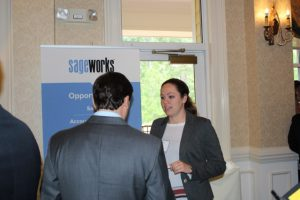 Chelsea Creech with Sageworks